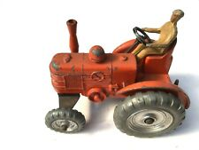 Dinky Toys Meccano  Field Marshall Tractor Number 301 Orange with Silver Wheels