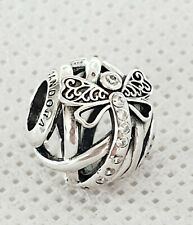 Sterling Silver Pandora Sparkling Dragonfly Openwork Charm