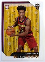 2018 18 Panini NBA Hoops Winter Collin Sexton Rookie RC #280, Cavs, Parallel