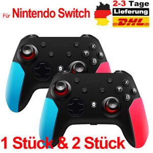 Pro Gaming Controller Für Nintendo Switch Wireless Bluetooth Gamepad+Ladekabel