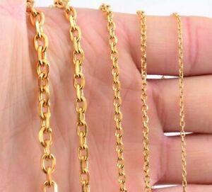 100%Genuine 9ct yellow gold chain