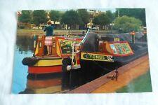 J472 Britains Inland Waterways BARGES Narrow Boat Stratford Canal Basin CYCNUS