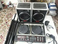 More details for cloud powered vintage double decks and custom speakers with fane classic drivers