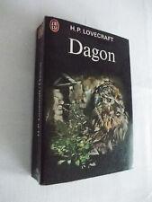SF Dagon de H.P. Lovecraft  Editions j'ai lu 1972