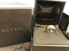 Gucci: Anello Icon Bold Oro Rosa - Gucci: Icon Bold Ring, Pink Gold, Size 14