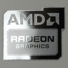 1x Amd Radeon Gráficos Pegatina equipo Windows 8 PC de Escritorio Laptop Original 10 7