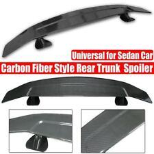 Carbon Fiber Look Wing Spoiler Rear Trunk Lip For Honda Toyota BMW Audi Benz