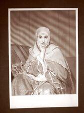 A daughter of the east o Una figlia dell'est di J. Portaels Acquaforte del 1888