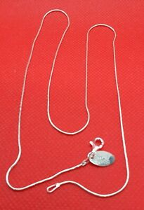 Simply Silver 20 inch Snake Chains Sterling Silver