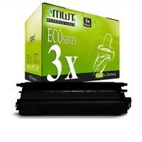 3x MWT Eco Toner Negro Compatible para Brother HL-4050-CDNLT MFC-9450-CDN