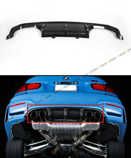 FITS 2015-17 BMW F8X M3 M4 PERFORMANCE STYLE CARBON FIBER REAR BUMPER DIFFUSER