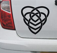Celtic 'Motherhood' knot 1 - vinyl car bike window decal sticker - DEC1125