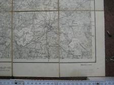 Brandenburg an der Havel Landkarte Umgebung Rathenow 1906 Havelberg Tangermünde