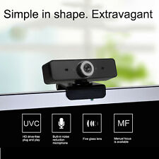 USB2.0 HD Video Webcam Computer Web Cam Camera PC Laptop Desktop W/ Microphone