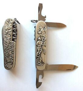 Victorinox Feuerwehr Taschenmesser swiss pocket knife Motiv fire fighter Spartan