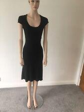 James Lakeland Italian Black Evening Dress New With Tags Size 42 - U.K. Size 10