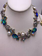 $145 Betsey Johnson Magical Creatures  tiger collar necklace #K1A