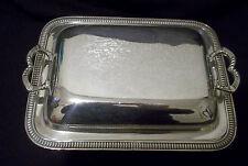 VINTAGE PIATTO D'ARGENTO SU RAME COPERTA che servono Dish Small