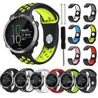 Silicone Wrist Watch Band Strap For Garmin Forerunner 220 230 235 620 630 735XT