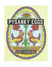 Pysanky Eggs: Easter Coloring Book Free Shipping