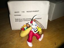 Disney's grolier Roger Rabbit Christmas ornament