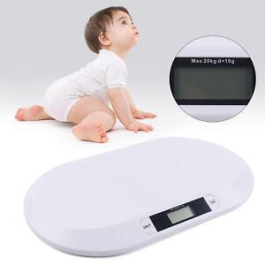 20kg Babywaage Waage Digitalwaage Batterien digital Kinderwaage Neu!!