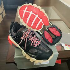 Balenciaga Track Bred Sneakers Racer Speed Trainer Triple S EU 43 Black Red
