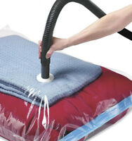 Large Space Saving Storage Vacuum Bags Clothes Bedding Organiser Under Bed