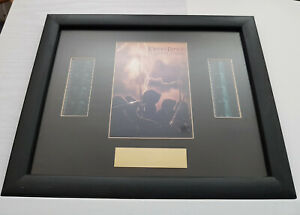 LOTR The Fellowship of the Ring Framed (10x8) Limited Edition Photo + Film Cells