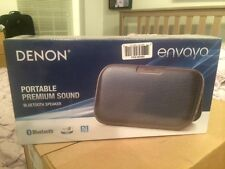 *Brand New Sealed Denon Envaya DSB200BK Wireless Bluetooth Music System, Black*