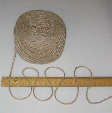 1kg 1000g Light Brown 100% Pure Wool British dk Double knitting yarn EFW 225