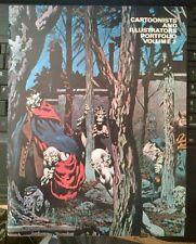 CARTOONISTS AND ILLUSTRATORS PORTFOLIO VOLUME 2  1978 Berni Wrightson Cover FN-