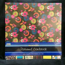 12 x 12 Patterned Cardstock Tate Collection Paper Reflections 16 sheets DMD