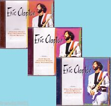 ERIC CLAPTON 3CD Eurotrend CD Lot Classic 60s 70s Rock Anthology BIG BOSS MAN