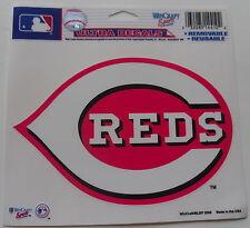 Cincinnati Reds Window Cling Sticker Decal MLB Lic Major league Baseball cubbies