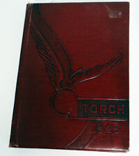 RARE 1947 OLYMPIAN MONTE NITZKOWSKI FULLERTON JUNIOR COLLEGE YEARBOOK