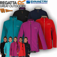 Regatta Jacket Womens Cathie Fleece Walking Hiking Running Outdoor Gym Work Top
