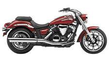 """Cobra Exhaust 4"""" Slip-On Muffler Scalloped Tip Yamaha V-Star 1300/Tour 2275"""