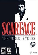 SCARFACE: THE WORLD IS YOURS (2006) PC CD-ROM NEW & FACTORY SEALED