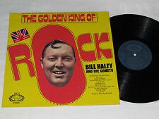 BILL HALEY & THE COMETS Golden King of Rock LP 1971 Hallmark Made in UK Vinyl
