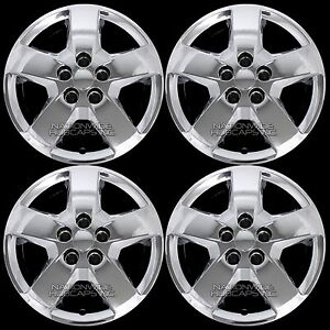 """06-11 fits Chevrolet HHR Malibu G5 16"""" Chrome Bolt On Wheel Covers Rim Hub Caps"""