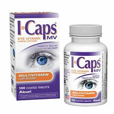 Alcon ICaps Multivitamin Eye Vitamin Mineral Support, Coated Tablets  100 tablet