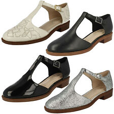Clarks Evening 100% Leather Upper Shoes for Women