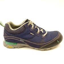 Ahnu Womens Sugarpine Navy Water Proof Athletic Hiking Trail Running Shoes Sz 8