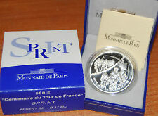 France 2003 Sprint - TOUR 1,5 euro Silver Proof -  silber argent 1/2 €  plata