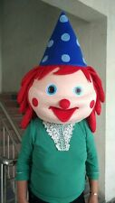 Head piece of Clown Mascot costume High quality brand new  best-selling