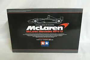 LOOK! 2006 TAMIYA 1/20 MCLAREN MERCEDES MP4/13 UNBUILT F-1 RACE CAR MODEL KIT!