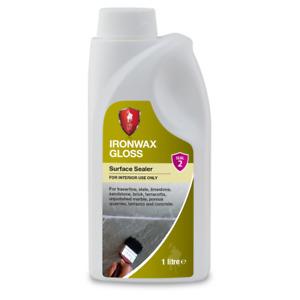 LTP Ironwax Gloss Wet Look Colour Enhancer Stain Protector Sealer 1L