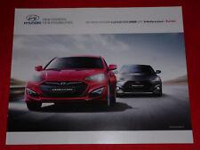 HYUNDAI Genesis Coupe + Veloster Turbo Prospekt von 2012