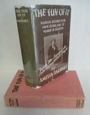 THE FUN OF IT by Amelia Earhart, 1932 1st Ptg in DJ with Record, Illustrated
